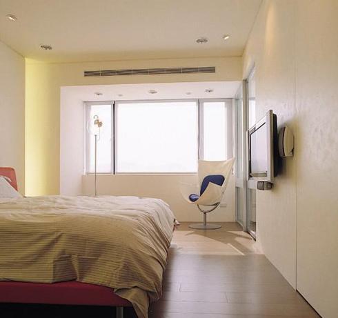 给卧室增加新元素 主卧阳台装修效果图欣赏