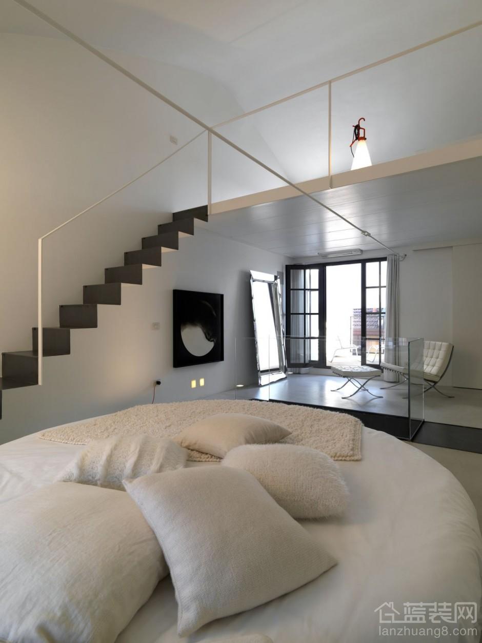 loft卧室装修设计图欣赏图片