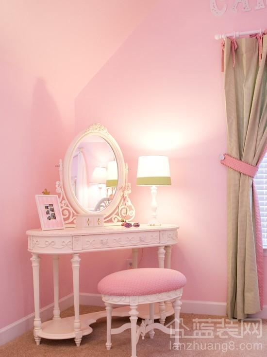 甜蜜超萌的粉色卧室设计
