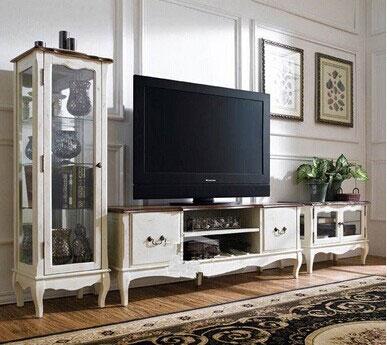 选建材  学习欧式电视柜选购原则 为家庭带来完美享受 对于现代家居来