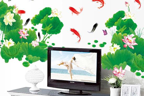 做影视墙的贴画-电视背景墙贴纸什么好 价格如何