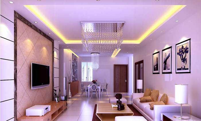 多款紫色调客厅装修效果