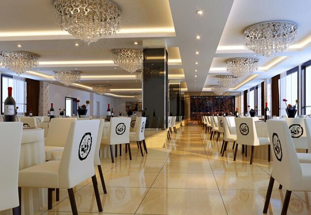 饭店是朋友聚餐、商洽业务、家庭聚会、公司集会和婚礼举办的主要场所,所以说饭店的装修是继服务态度之外的又一个受到重视的问题。现在小编就带领大家看看其中饭店吊顶效果图的几款案例。  这款饭店吊顶效果图在中间部分采用格状灰色的装饰效果,周边采用集成吊顶的装修方式。