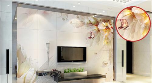 三款电视背景墙瓷砖推荐