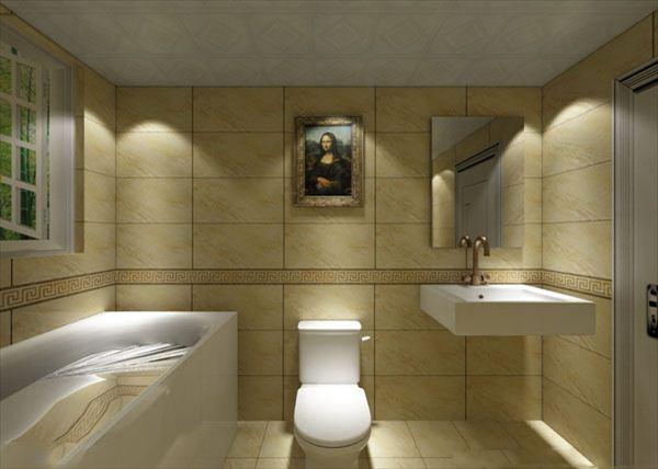如果家中洗手间地面设计高过客厅地面