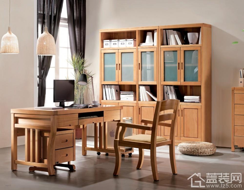实木贴面家具的线条最为优美,设计也更为简约时尚,在实木家具中,是