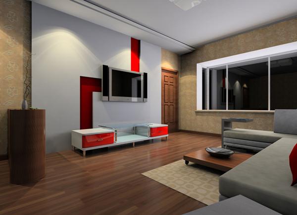 沙发电视摆放风水——客厅风水电视:背景