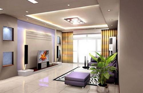 欧式电视背景墙 给客厅一个完美组合